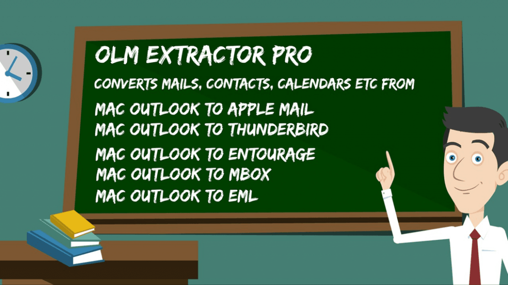 Outlook Olm file to Mac Mail Conversion