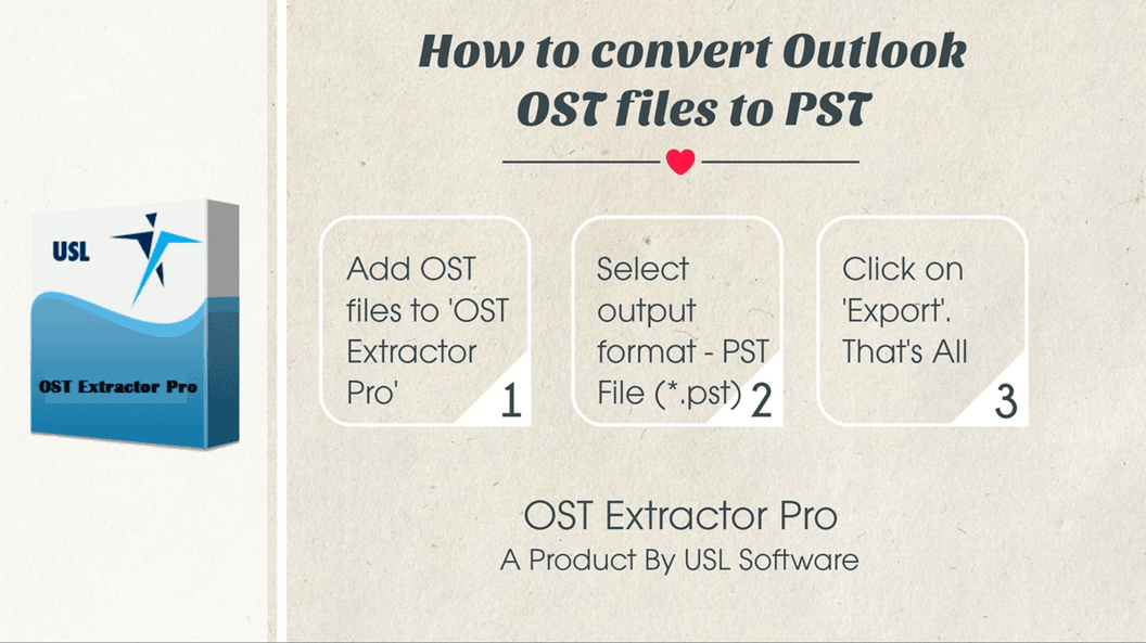 Convert OST to PST Outlook 2016, Outlook 2013, Outlook 2010 etc.