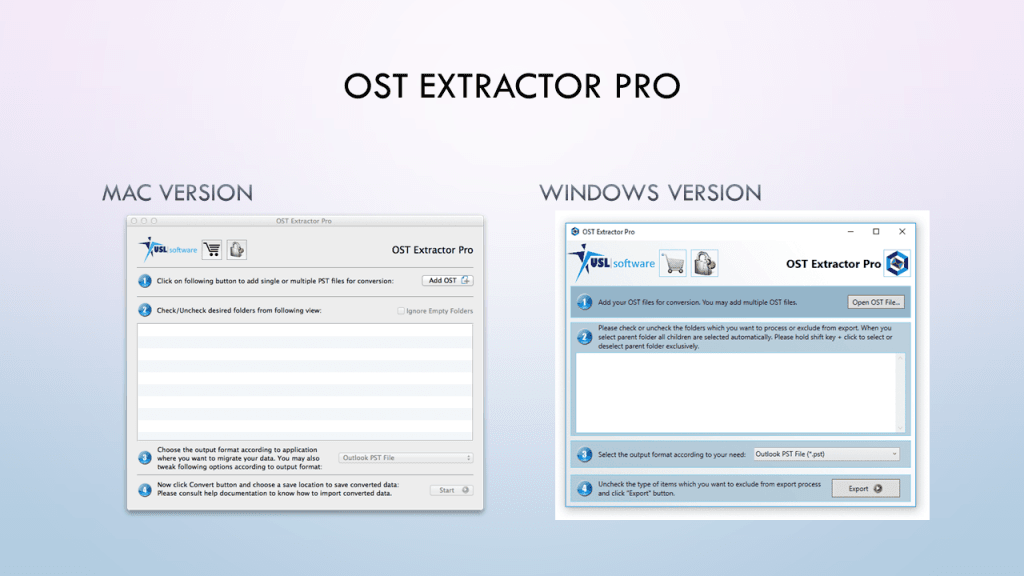 ost to pst converter for Outlook 2019