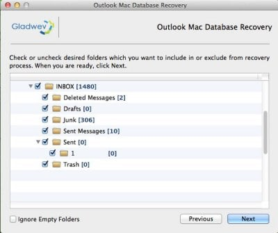 Mac Outlook Database Recovery