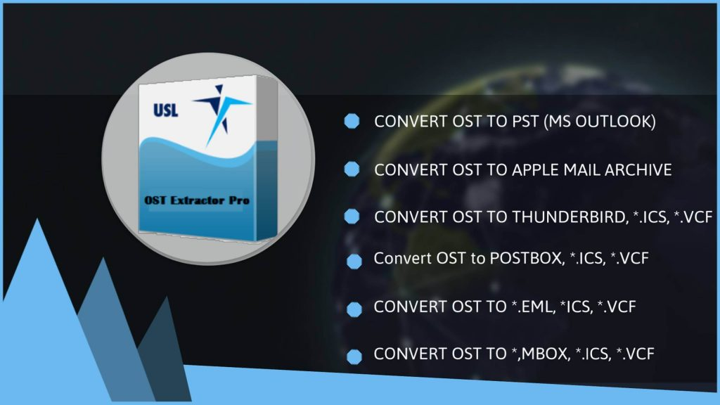 ost data to pst